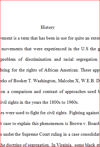 black leaders essay This essay argues that local television news broadcasts in virginia in  leader  accused him of doing so solely to get the african american vote.
